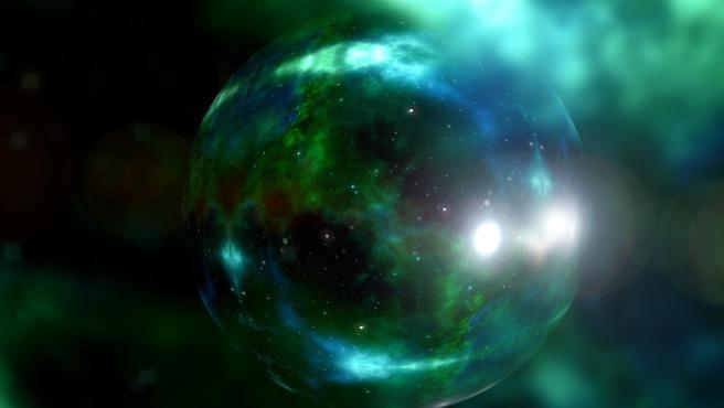 Representación artística del universo.
