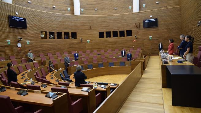 Comisión para la reconstrucción en Les Corts
