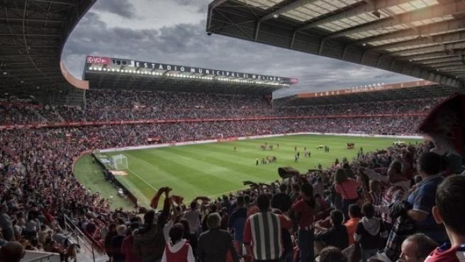 Estadio de El Molinón de Gijón