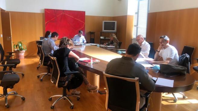 Reunión Gobierno de La Rioja con Justicia