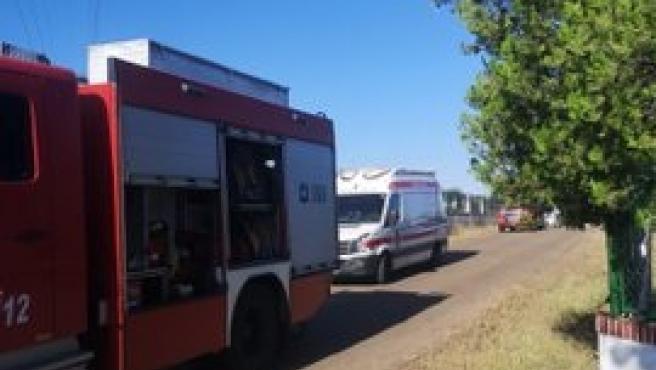 Un incendio en una vivienda de Badajoz se salda con daños materiales y una mujer atendida por ansiedad