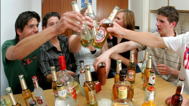 Imagen de archivo de una fiesta en una vivienda.