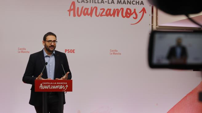 Secretario de Organización del PSOE en Castilla-La Mancha, Sergio Gutiérrez.