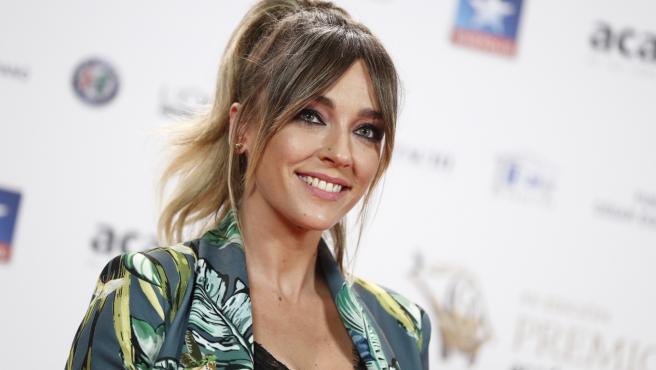 Anna Simon en los premios Iris de la Academia de Televisión.