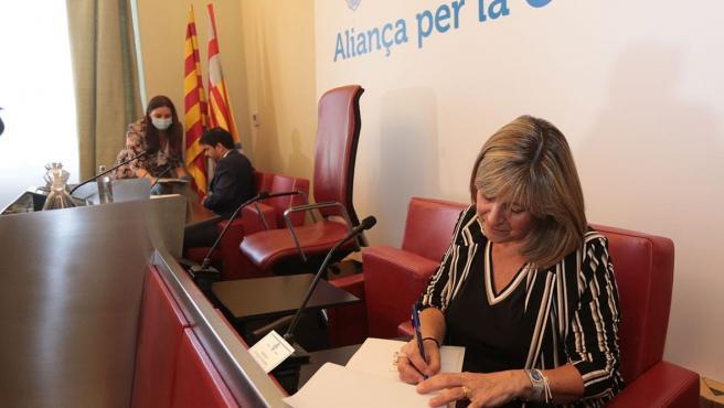 La presidenta de la Diputación de Barcelona, Núria Marín, ha anunciado este miércoles que la corporación invertirá 5,5 millones de euros en proyectos supramunicipales en la Conca d'Òdena para la 'reactivación económica' del territorio.