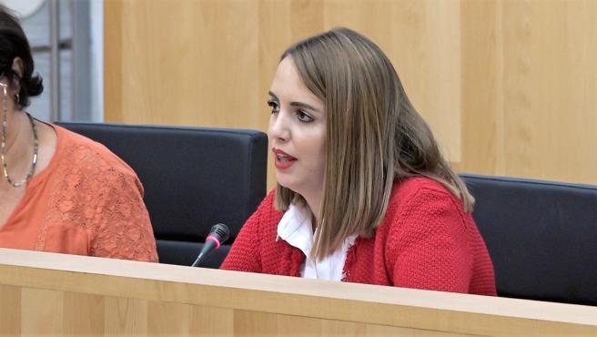 María Victoria Cañamero, diputada provincial del PSOE en la Diputación de Málaga