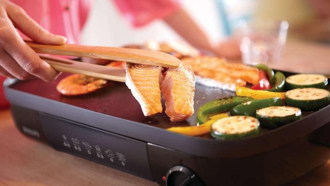 Cocinar a la plancha es uno de los métodos más saludables.