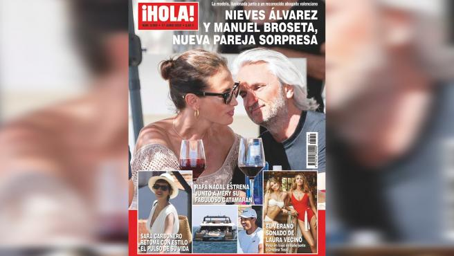 """Sale a la luz la nueva relación de Nieves Álvarez: """"Yo siempre estoy feliz"""""""