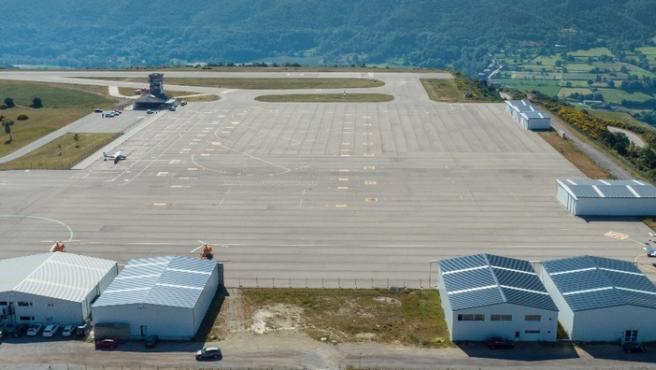 Aeropuerto de Andorra-la Seu d'Urgell.