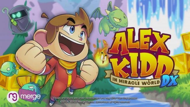 'Alex Kidd in Miracle World DX', la remasterización del mítico personaje de Sega.