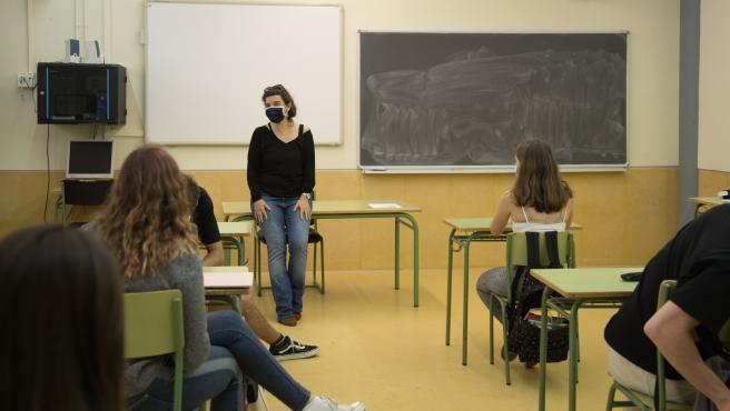 clase castellano selectividad instituto can planas barberà del vallès (BCN)