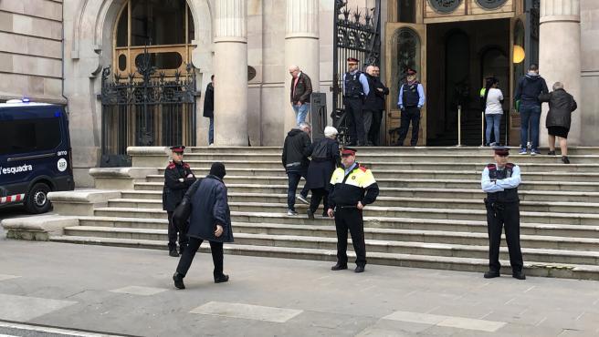 El exprofesor de Maristas acude a la Audiencia de Barcelona por el juicio en 2019 (ARCHIVO).