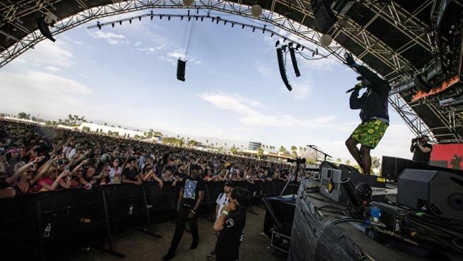 Una actuación durante el festival de Coachella de 2019.