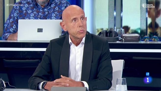 Javier Llano, director de Cadena 100 y juez en 'Operación Triunfo 2020'.