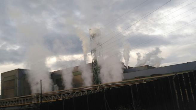 Planta de Arcelor en Avilés, ArcelorMittal.
