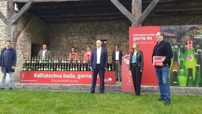 Presentación de la cosecha 2019 de Euskal Sagardoa en Chillida Leku