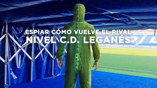 El divertido cartel del Leganés.
