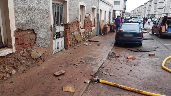 Efectos de las inundaciones en Reinosa