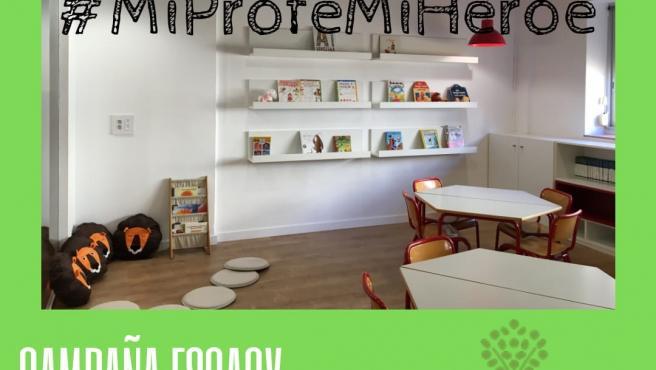 Escuelas Católicas de la Comunidad Valenciana lanza #MiProfeMiHeróe, una campaña para agradecer la labor de los docentes