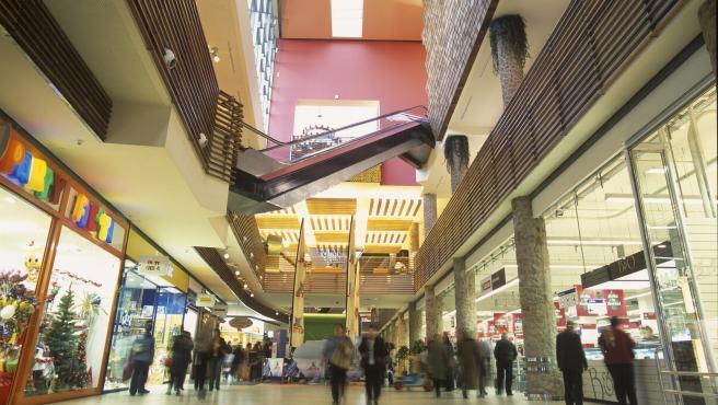 Centro comercial Luz del Tajo, interior