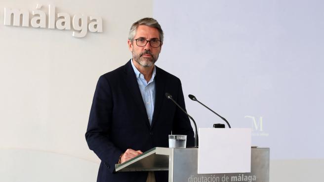 El vicepresidente primero de la Diputación de Málaga y responsable de Desarrollo Económico Sostenible, Juan Carlos Maldonado.