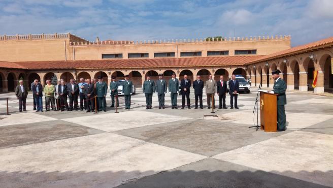 Imagen de archivo de la Comandancia de la Guardia Civil de Teruel.