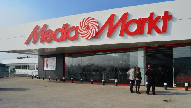 Imagen de archivo de una tienda de MediaMarkt.