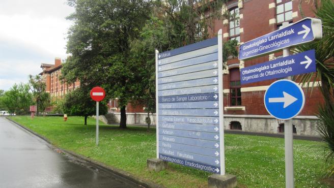 Imagen de archivo del hospital de Basurto, en Bilbao.