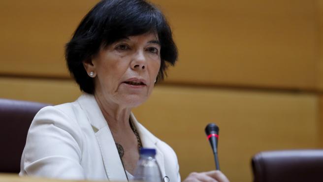 La ministra de Educación y Formación Profesional, Isabel Celaá, en una imagen de archivo.