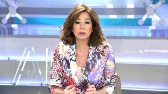 Ana Rosa Quintana dedica su editorial a criticar los cambios de criterio del Gobierno.