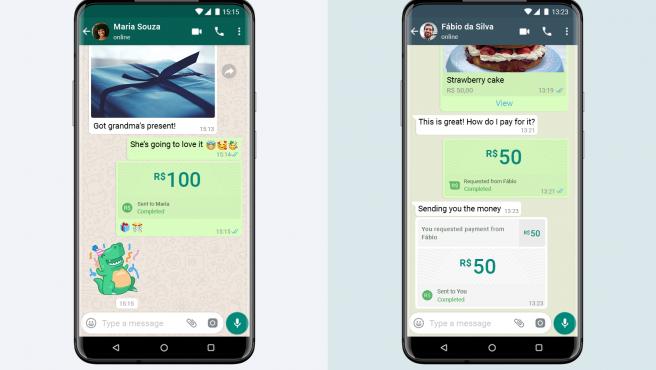 El servicio de pagos de WhatsApp ahora está disponible en Brasil