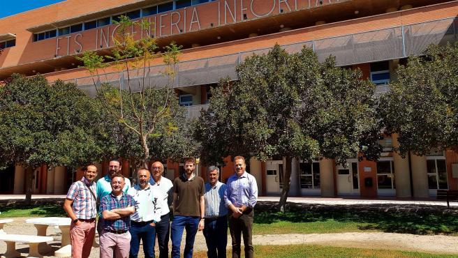Equipo del grupo NEO de la Escuela de Ingeniería Informática de la UMA.
