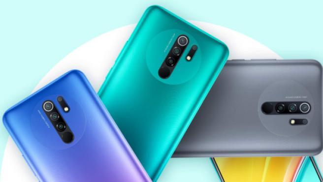 El Xiaomi Redmi 9 en sus tres colores