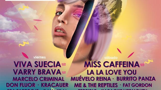 Cartel de Natural Live Festival en Férez.