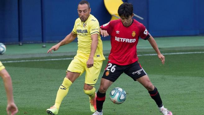 Cazorla y Kubo en el Villarreal - Mallorca