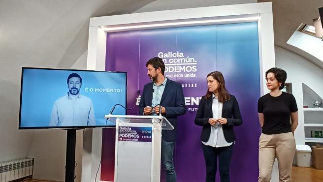 Galicia en Común Anova Mareas presenta su lema electoral para las elecciones del 12 de julio