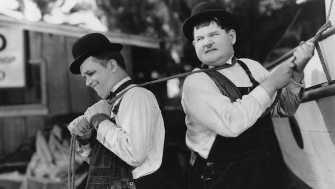 Destrucción mutua asegurada: lo mejor de Laurel y Hardy