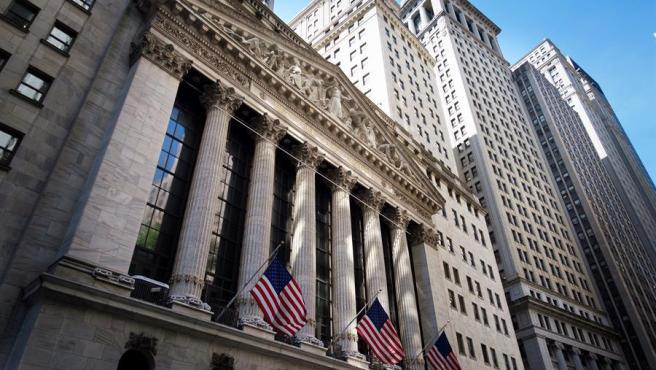 La Bolsa de Nueva York, en Wall Street.