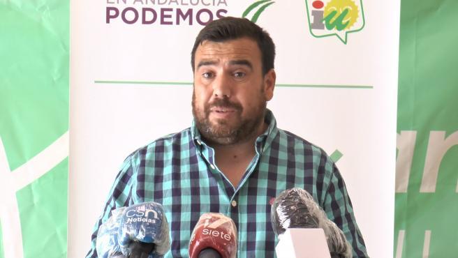 Alejandro Serrato en rueda de prensa