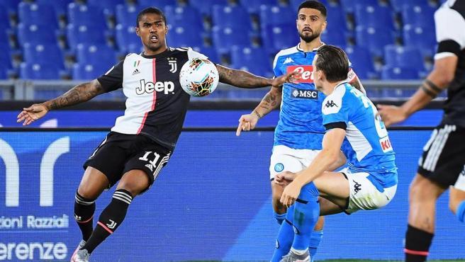 Un momento de la final entre Juventus y Nápoles