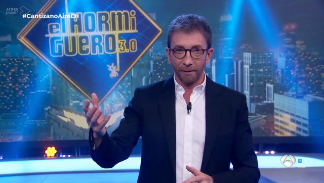 Pablo Motos, en 'El hormiguero'.