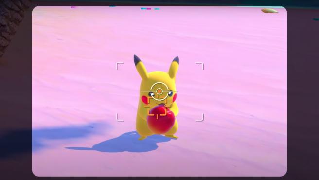 Pikachu en el nuevo 'Pokémon Snap' para Nintendo Switch.