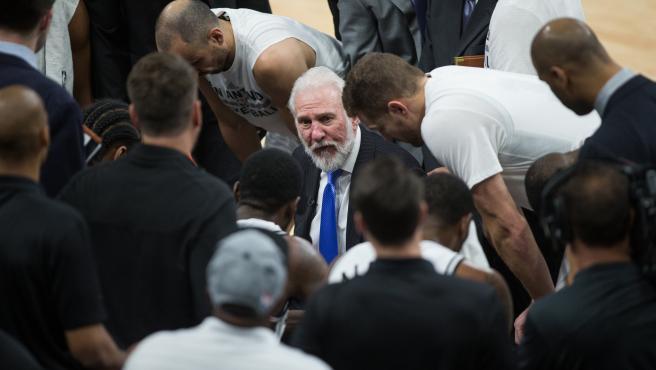 Greg Popovich, entrenador de los San Antonio Spurs