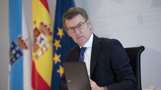 Imagen de archivo del presidente de Galicia, Alberto Núñez Feijóo.