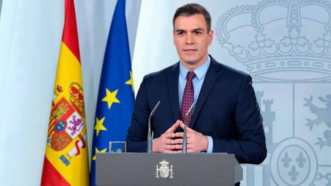 Pedro Sánchez declara el estado de alarma.