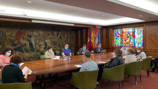 El alcalde de León, José Antonio Diez, preside la Junta de Gobierno Local.