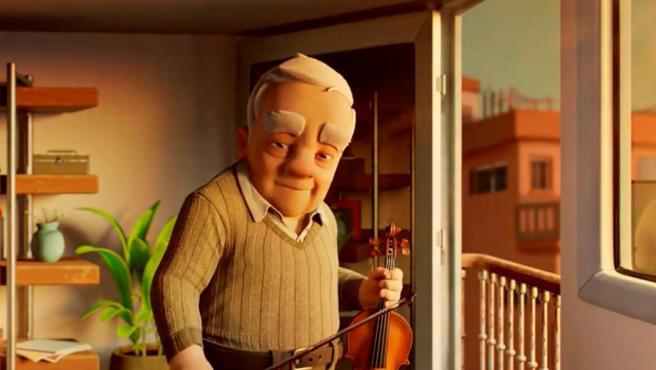 Imagen del cortometraje de animación 'Hermann'.
