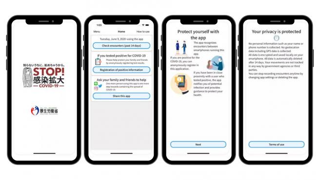 La app se llama COCOA, acrónimo de 'COVID-19 Contact Confirmation Application'.