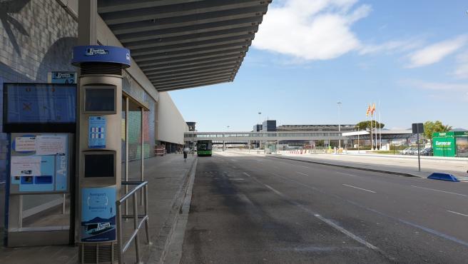 La Terminal 2 (T2) del Aeropuerto de Barcelona cerrado por el coronavirus, en El Prat de Llobregat el 27/3/2020