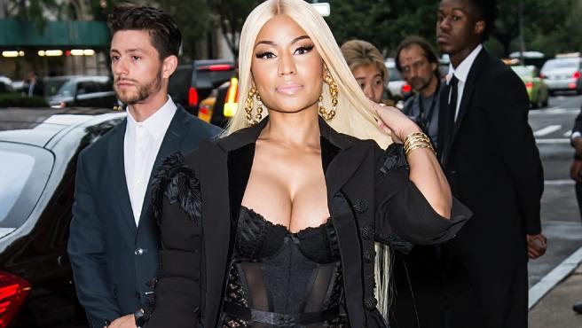 La cantante Nicki Minaj.